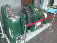 Old generator (Alex-Boy) Tags: canada dam columbia british hydroelectric bchydro hydroelectricity