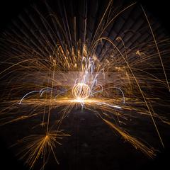 The orb (Xanadú) Tags: light lightpainters lightpainting orb orbs orbeperfecto perfectorb orbe longexpo lost lostplaces longexposure luces luz lugaresabandonados sombras soledad fotografíanocturna nocturna nowhere nocturnas noche factory fábrica steelwool steelwoolspinners steelwoolphotography lanadeacero lana churrasqueros