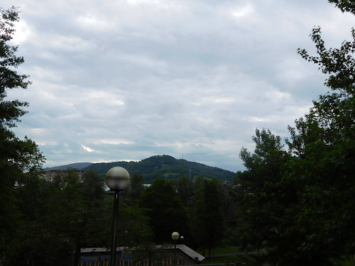 Cloudy Irun.