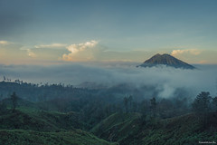 Volcano mountain view, Ijen, Java, Indonesia (tr4live) Tags: people mountain lake nature beautiful rock danger indonesia landscape volcano java earthquake view smoke scenic steam gas crater mineral sulfur volcanic eruption active ijen kawah