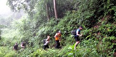 Trekking door Chiang Dao gebied (khemtit1) Tags: trekking mai chiang dao