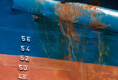 Numbers (mennomenno.) Tags: haven abstract rust ship harbour scheveningen thenetherlands roest vissersboten