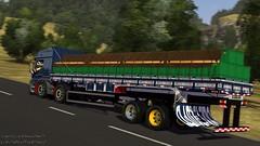 Ateguin  Milhum (Taal D Lauer) Tags: azul br top limao 153 limo carga atego br153 carrego bitruck limaum