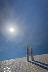 Terminal de Cruzeiros - Porto de Leixes (Daniel Caridade) Tags: cruise blue sky sun sol portugal azul port ship terminal cu porto hexagon azulejo cruzeiros leixes hexagono