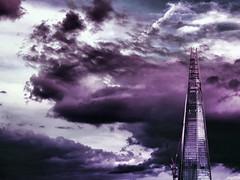 The Shard - London Urban Landscape Photography (Nicholas Goodden) Tags: urban london thames skyscraper londonbridge landscape photography cityscape view purple famous landmarks dramatic best shangrila shard iconic touristic urbanphotography theshard
