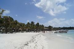 Beach in Akumal (jonathankeller772) Tags: sunset summer vacation food sun white beach beautiful del palms fun boats coast nice sand maya coconut tulum playa cancun paws carmen isle mexiko lovly contoy selfi