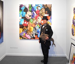 Dr. Takeshi Yamada and Seara (Coney Island Sea Rabboit) visited the Art NY at the Pier 94 in Manhattan, NY on May 3, 2016.  20160503Tue DSCN5511=4030pC2 artwork by Brent Estabrook (searabbits23) Tags: ny newyork sexy celebrity rabbit art hat fashion animal brooklyn asian coneyisland japanese star tv google king artist dragon god vampire manhattan famous gothic goth uma ufo pop taxidermy vogue cnn tuxedo bikini tophat unitednations playboy entertainer oddities genius mermaid amc mardigras salvadordali performer unicorn billclinton seamonster billgates aol vangogh curiosities sideshow jeffkoons globalwarming mart magician takashimurakami pablopicasso steampunk damienhirst cryptozoology freakshow leonardodavinci seara immortalized pier94 takeshiyamada roguetaxidermy searabbit barrackobama artny ladygaga climategate  manwithrabbit