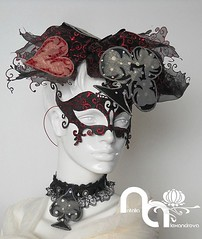 For Vodacom Durban July#Hats#Outfit#Masks#Necklace#Fashion#Unique#Horseracing#Events# (Accessories by Natalia Alexandrova) Tags: hat hair handmade hats horseracing hairstyle headdress gothicstyle hairornament designerhat handmademask designerhats handmadehat handmadeaccessories accessoriesforhair uniquehat designhat gothichat gothicmasks hatfromperforatedfabric