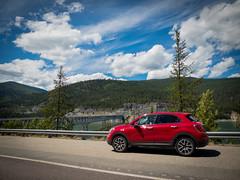 Fiat 500x AWD Trekking Plus (sli_imagery) Tags: park canada car trekking italian jasper fiat national 500x plus banff awd multiair fiat500x 500xtrekkingplus