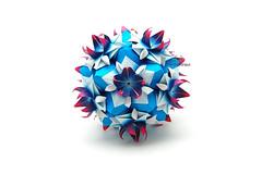 Hoya (Akizhi) Tags: art paper origami decoration craft modular kusudama