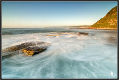 Cloudless (Emma White ( ... somewhere ... )) Tags: ocean longexposure sunrise newcastle nikon long exposure photographer tide baths nsw swell merewether merewetherbeach oceanbaths emmawhite