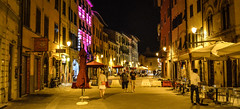 Streets of Pisa 3 (chriswalts) Tags: travel sunset italy streets tower night pisa leaning