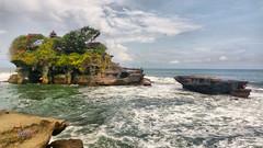 Tanah Lot in HDR (anggocc201) Tags: bali tourism beach nature indonesia scenery pantai pemandangan pariwisata