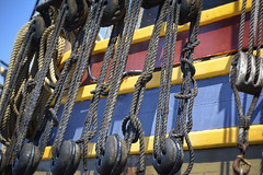 Rigging (Athena7210) Tags: sea color ship ropes nautical rigging