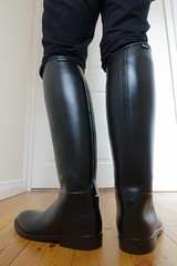 Riding Boots Wednesday (essex_mud_explorer) Tags: start boots rubber riding rubberboots aigle ridingboots rubberridingboots reitstiefel bottesdquitation aigleridingboots aiglestart