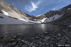 lago di pilato (Fabrizio Diletti (Fermo, Italia)) Tags: italy mountain lake snow landscape lago italia mount neve monte marche sibillini vettore