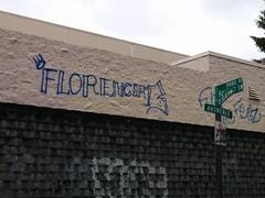 FLORENCIA 13 (northwestgangs) Tags: everett ganggraffiti gangtags f13 surenos bloodms13
