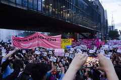 (SamNeves1993) Tags: brazil woman brasil avenida women mulher rape sp brazilian feminism mulheres paulista feminismo manifestao feminista temer patriarcado estupro