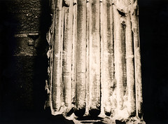Ancient roman column (padesig) Tags: darkroom paper lith 131 warmtone foma baryt moersch wetprint fomatone fomatonemgclassic easylith