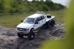 Ford F-350 6 door 6wd 21 (My Scale Passion) Tags: ford 6x6 scale rock truck bed flat micro extended rc mrc f350 crawler lifted losi 6wd 6door myscalepassion