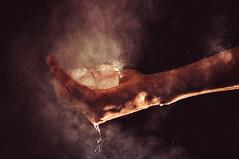 Sublimazione (Baron_bleffone) Tags: ice hand steam mano conceptual acqua vapor ghiaccio concettuale vapore