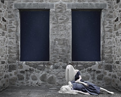 The Philosophy of Stars (Patty Maher) Tags: stars windows twins clones conceptual fineart