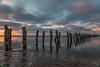 That Old Jetty -2 (BlueberryAsh) Tags: longexposure sunset beach clouds pier nikon jetty australia oldjetty geelong ndfilter nikon24120 cliftonsprings 10stop cloudsstormssunsetsandsunrises nikond750