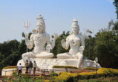 Shiva and Parvathi sculptures.jpg (melissaenderle) Tags: vizag asia travel andhrapradesh