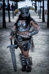 Female dovahkiin (sandrastawiarz) Tags: cosplay elder scrolls skyrim dovahkiin