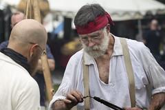 2016 Blackbeard Pirate Festival  Hampton Virginia Va. (watts_photos) Tags: festival fire virginia iron tools va pirate hearth forge hampton tool reenactor reenactors encampment blackbeard 2016