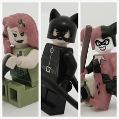 Gotham City Sirens (GothamBricks) Tags: city lego ivy harley batman quinn poison gotham catwoman sirens