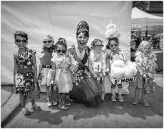 Little Miss Honette Contestants at Honfest 2016 (crabsandbeer (Kevin Moore)) Tags: summer people bw kids children fun costume hairdo kitsch baltimore event beehive hampden hons beautypageant cafehon honfest honettes baltimoresbesthon