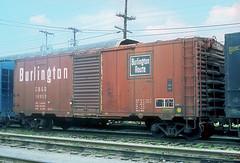 CB&Q Class XM-32C 18953 (Chuck Zeiler) Tags: cb q class xm32c 18953 burlington railroad box car boxcar freight chz chuck zeiler