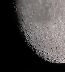 Crater Gassendi approaching (cosmictourist67) Tags: moon mond astrophotography astronomy universe solarsystem celestron c6 astronomie universum avx astrofotografie celestron6 celestronfan