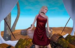 Once a slave (Ambra Saponis) Tags: hair model adult sl secondlife collar murray spunk gor gorean secondlifefashion camisk sweetkajira comesoonposes spunkbrandsmutproducts