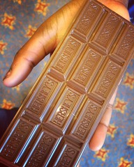 Black Girl Hand Hershey's Chocolate Bar (stevendepolo) Tags: black girl bar hand chocolate hersheys lourdie