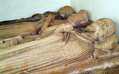 William & Katherine - Bredon Worcestershire (jmc4 - Church Explorer) Tags: bredon worcestershire church effigy monument beauchamp