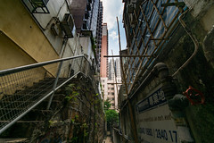 Mid Levels Alley HK (fate atc) Tags: hk buildings hongkong high alley apartments midlevels narrow