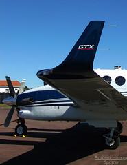 Winglet (Antnio A. Huergo de Carvalho) Tags: airplane wings aircraft aviation wing asa avio winglet beechcraft beech aviao kingair c90 aviaoexecutiva c90gtx ppjcl