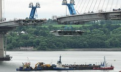 Queensferry Crossing (Gerry Hill) Tags: road bridge water river scotland crossing harbour south north replacement forth firth queensferry