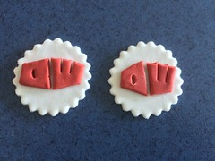 Dr.Who (Layla's Sugar Flowers) Tags: flowers cake sugar toppers