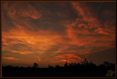 Fireworks in the sky (WanaM3) Tags: park landscape twilight texas sony houston redsky civiltwilight a700 sonya700 wanam3 elfrancoleepark