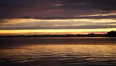 Poole post sunset shining (SteveJM2009) Tags: uk light sunset sea sky colour water june clouds harbour dorset poole stevemaskell 2016