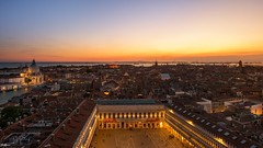 Piazza San Marco (Brian Koprowski) Tags: travel venice sunset sea vacation italy church up nikon europe top campanile piazza venezia piazzasanmarco stmarkssquare d610 briankoprowski
