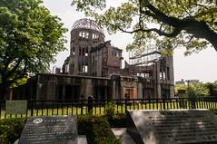 Genbaku Dome (TheSpaceWalker) Tags: japan photography photo nikon wwii pic hiroshima 1750 tamron atomicbomb abomb abombdome d300 genbakudome hiroshimaprefecturalindustrialpromotionhall thespacewalker
