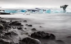 Frozen (pecsilinda) Tags: travel ice canon eos frozen iceland glacier jkulsrln 600d