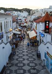 Albufeira Street Scene (Chris Shaw - chriscross) Tags: travel holiday albufeira