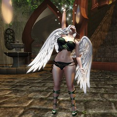 The Light (6) (Ashildr the Avariel) Tags: sl secondlife second life virtualworld virtual world rp roleplay role play wings ears elf avariel castle avatar