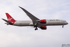 Virgin Atlantic Airways --- Boeing 787-9 Dreamliner --- G-VOWS (Drinu C) Tags: adrianciliaphotography sony dsc hx100v lhr egll plane aircraft aviation virginatlantic virgin virginatlanticairways boeing 7879 dreamliner gvows 787