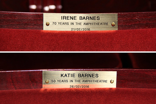 Seat stories: The personal tales behind the brass plaques